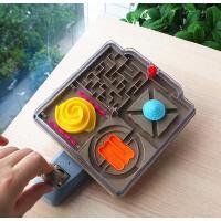 手摇迷宫益智玩具3D轨道平衡力耐心专注力亲子互动游戏手眼协调