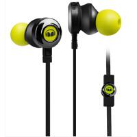 【当当自营】MONSTER/魔声 CLARITY HD 灵晰 入耳式手机通用耳机重低音线控耳塞耳机 荧光绿