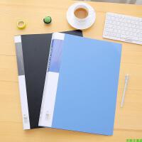 8K文件夹多层插页袋A3资料夹透明学生试卷夹8开图纸册素描纸画册