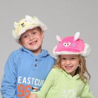 kenmont儿童冬帽子 可爱的阿拉蕾 护耳棒球帽4826