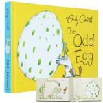 英文原版绘本The Odd Egg 奇怪的蛋 我的宝贝蛋 获奖名家绘本 3-6岁 Emily Gravett著 幼儿园