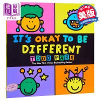 托德帕尔:异同书 英文原版 英文版 It is Okay to be Different/Todd Parr 儿童读物