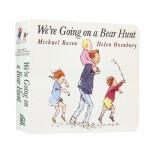 进口英文原版绘本 We're Going on a Bear Hunt 我们一起去猎熊