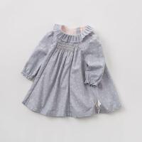 [2件3折价:83.1]戴维贝拉春季新款女童连衣裙 宝宝裙式上衣DB7496