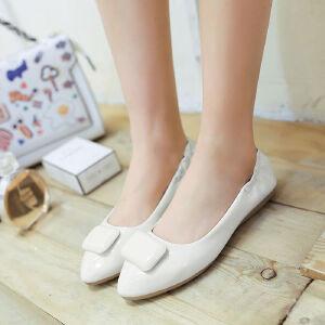 O'SHELL欧希尔新品057-1603韩版平底鞋女士豆豆鞋