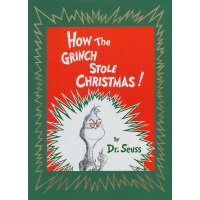 How the Grinch Stole Christmas (Deluxe Edition)[Hardcover]圣