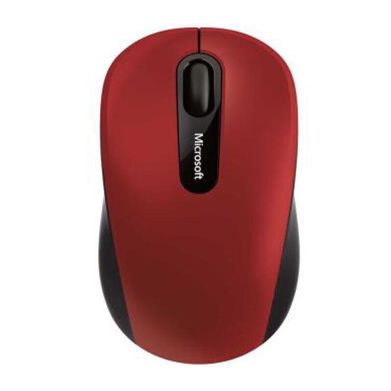 微软(Microsoft)无线便携蓝牙鼠标3600(珊瑚红)