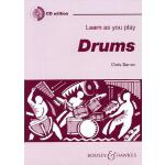 预订 Learn as You Play Drums [ISBN:9780851625102]