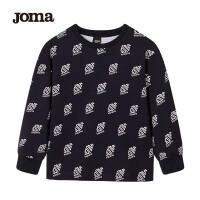 JOMA荷马针织套头衫卫衣童装中大童加绒舒适卫衣外套运动上衣