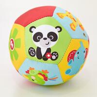 【当当自营】费雪(Fisher Price)玩具 儿童玩具球 动物认知球宝宝摇铃球 F0807