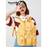 女士韩版大容量背包高中学生书包休闲旅行双肩背包