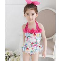 新款 儿童泳衣 连体裙式泳衣 儿童泳装 中小女童 支持礼品卡
