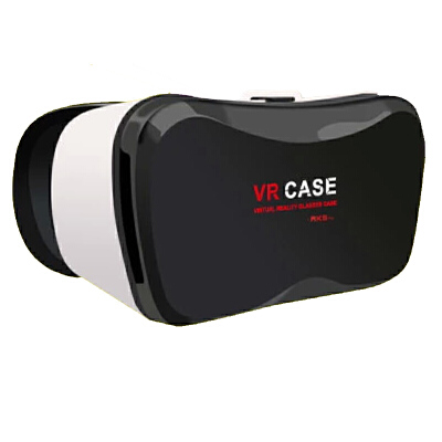 VR CASE 5plus手机3D立体眼镜虚拟现实魔镜近视可用buy+购物    眼镜标配 不加手柄清晰防眩晕,外观更加简约时尚