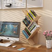 老睢坊 包邮桌上树形书架儿童简易置物架学生用桌面书架书柜储物架收纳架