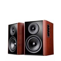 2018新款 蓝牙音响 有源电脑桌面书架家用客厅木质音箱 纹 B5音箱一对