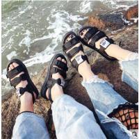 凉鞋女百搭潮款平底韩版学生两穿拖鞋女士平跟情侣沙滩鞋潮