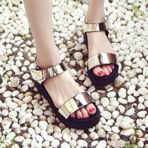 ELEISE美国艾蕾莎新品061-6622-1休闲女士凉鞋