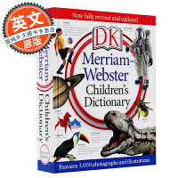 韦氏儿童词典 新版 英文原版 DK Merriam-Webster Children's Dictionary 进口儿