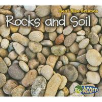 【�A�】Rocks and Soil: Real Size Science 9781432978822