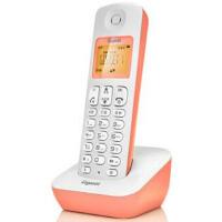 集怡嘉 A190L 单机 糖果粉 Gigaset原西门子品牌电话机A190L数字无绳电话单机中文显示双免提屏幕背光家用