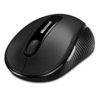 微软(Microsoft)4000 无线便携蓝影鼠标两侧防滑防汗橡胶设计  办公娱乐舒适不累