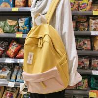 初中大学生双肩背包少女书包女韩版原宿校园帆布背包