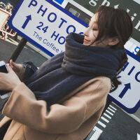 新品秋冬季围巾女韩版百搭长款加厚披肩保暖女士针织毛线学生围脖冬天