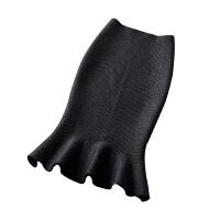 鱼尾半身裙中长款修身2018春秋冬装女裙弹力包臀裙高腰针织一步裙 裙长66cm 腰围1.8-2.5尺可以穿