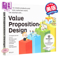 英文原版 Value Proposition Design: How to Create Products and Services Customers Want 价值主张规划 Wiley 市场营销