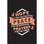 预订 Hope Peace Prayers: Endometrial Cancer Journal Notebook