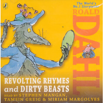 Revolting Rhymes and Dirty Beasts 罗尔德·达尔儿童诗歌音频(Audio Book) ISBN9780141348384
