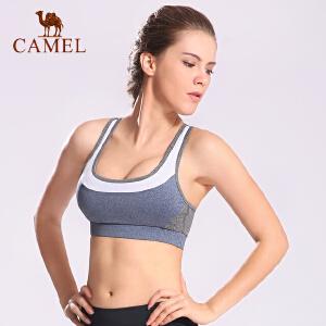 camel骆驼运动文胸 女款瑜伽健美健身运动跑步背心