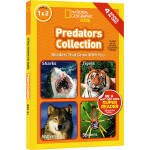 National Geographic Kids Predators Collection 4个故事合辑 L1L2 美