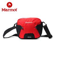 Marmot/土拨鼠新款户外运动斜挎包大容量单肩包可拆卸拎包休闲包
