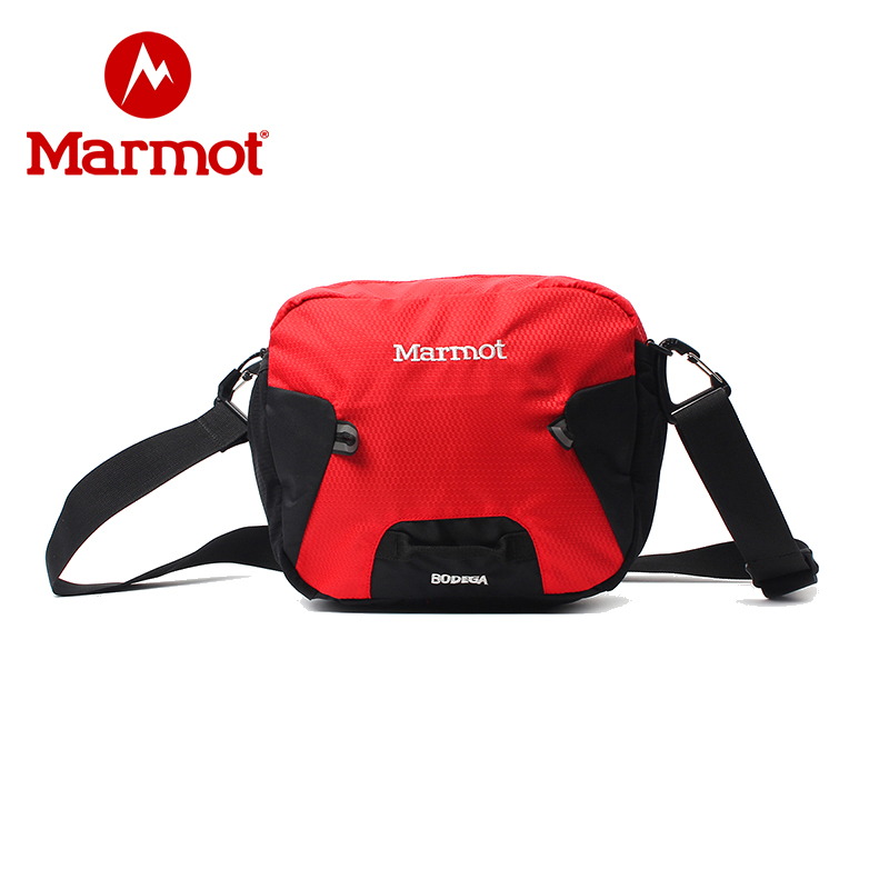 Marmot/土拨鼠20新款户外运动斜挎包大容量单肩包可拆卸拎包休闲包 VIP专享96折