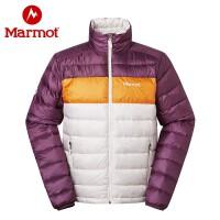 Marmot/土拨鼠秋冬款户外600蓬拒水羽绒男短款轻薄羽绒服