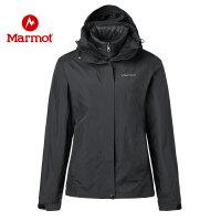 【开学季】Marmot/土拨鼠户外运动女士羽绒三合一冲锋衣