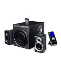 Edifier/漫步者 S2.1标准音响重低音炮 多媒体音箱家庭影剧院 hivi