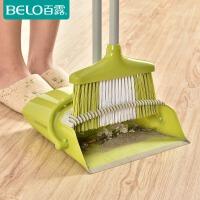 百露组合家用扫地笤帚软毛扫帚扫地扫头发防风扫把簸箕套装