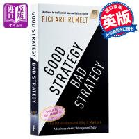 【中商原版】好战略坏战略 英文原版 Good Strategy/Bad Strategy 理查德 鲁梅尔特 Richard Rumelt 商业经典图书