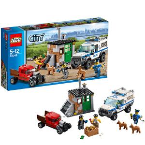 LEGO 乐高 CITY城市系列 警犬突击队 积木拼插儿童益智玩具 60048