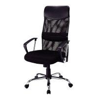 【品牌直供】日本SANWA 包邮! SNC-NET15 双层网格高靠背办公椅 网椅 老板椅 家用电脑椅办公椅子网布椅升