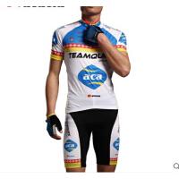 山地自行车骑行服短袖套装男 新款短袖骑行服 吸湿速干