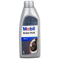 Mobil 美孚汽车刹车油制动液DOT3正品大众丰田摩托车宝马奔通用 1升