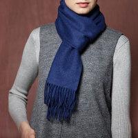 【当当自营】DANGDANG PREMIUM 羊绒Burberry风格明星款围巾(50厘米宽*160厘米长)当当自营羊