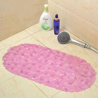 【支持礼品卡】浴室椭圆 防滑垫按摩 环保pvc卫生间防滑脚垫