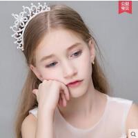 韩版儿童皇冠发箍公主可爱水钻百搭女童发饰宝宝发梳小女孩发卡头饰品优雅时尚