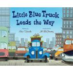 预订 Little Blue Truck Leads the Way Big Book [ISBN:978054785