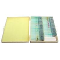 生物显微镜 切片标本91种全套显微镜标本现升级为100片加量不加价