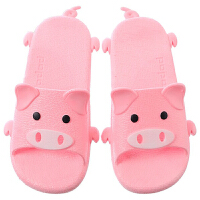 一体成型PVC厚底防滑夏季男女宝宝凉拖鞋